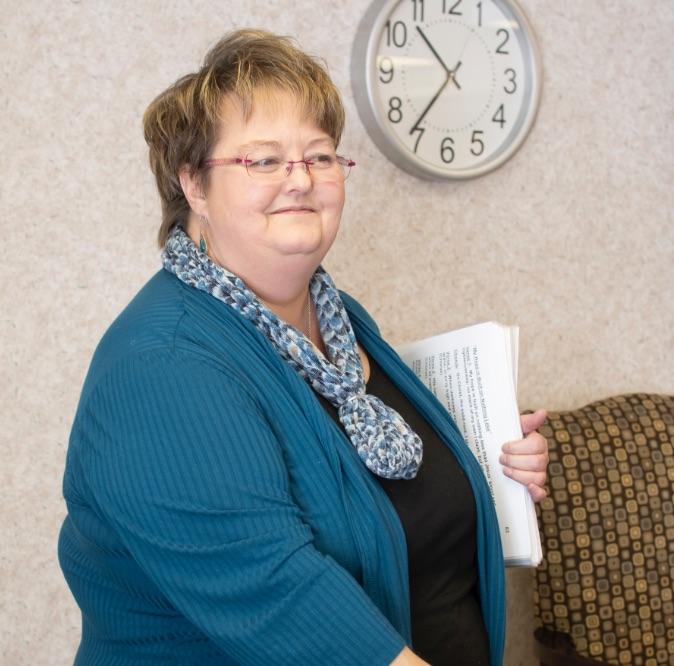 Judy Schultz : Chaplain